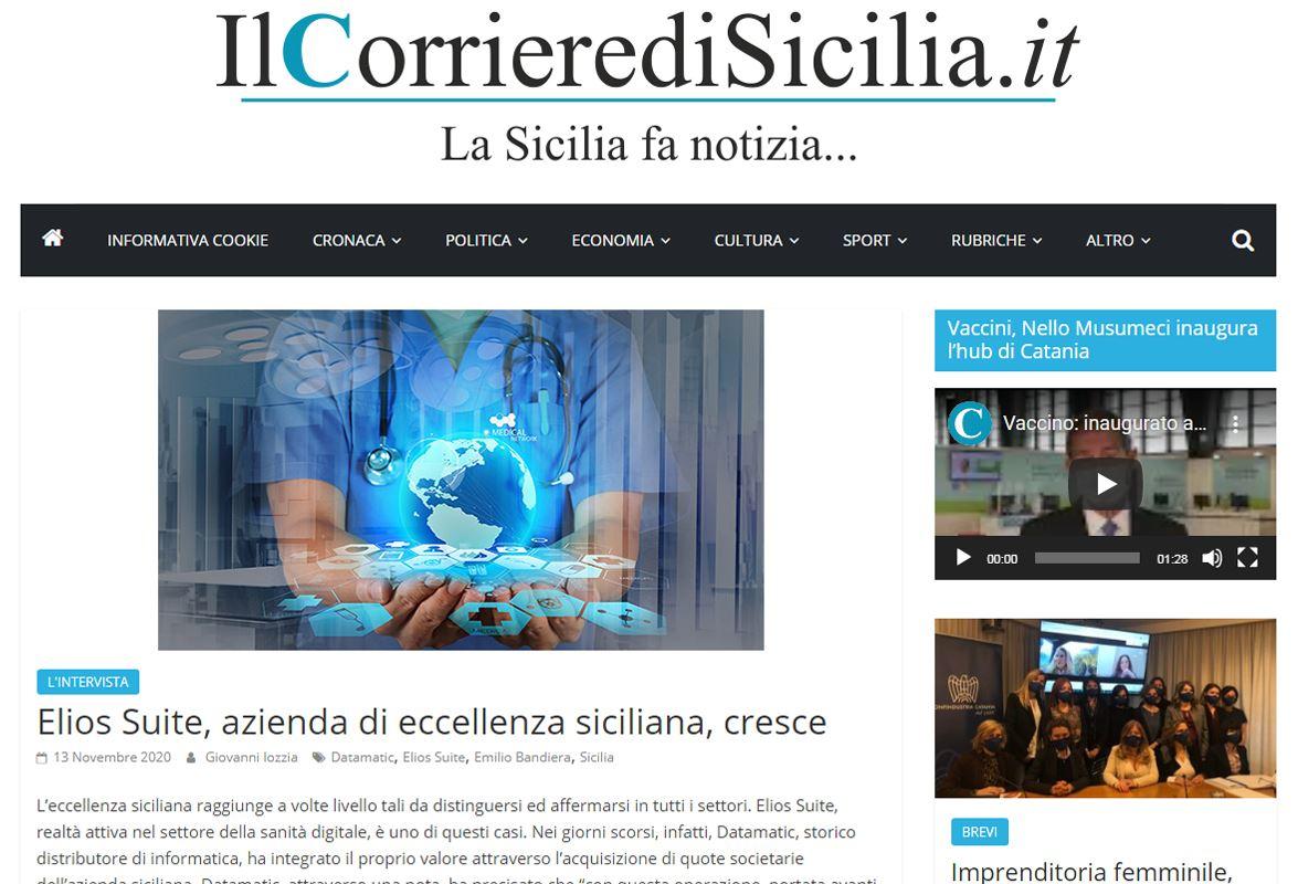 Elios Suite, azienda di eccellenza siciliana, cresce